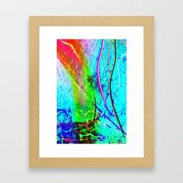 Color Tasting Framed Art Print