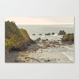 Ecola Point, Oregon Coast, hiking, adventure photography, Northwest Landscape Canvas Print