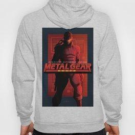 """Metal Gear Solid """"Alert Phase"""" Poster Hoody"""