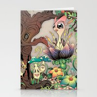 jungle Stationery Cards featuring JUNGLE by GEEKY CREATOR