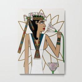 Lotus Dancer Metal Print