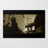 Once Upon a Time in America Canvas Print