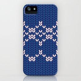 Scandinavian pattern iPhone Case