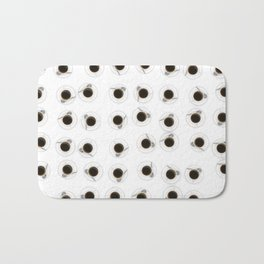 Coffee cups / 3D render of hundreds of cups of coffee Bath Mat