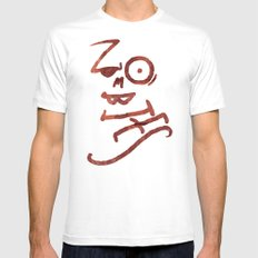 Zombies Mens Fitted Tee White MEDIUM