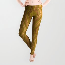 Golden - Cooper Geometric Abstract Leggings