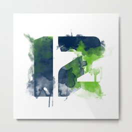 12th man Metal Print