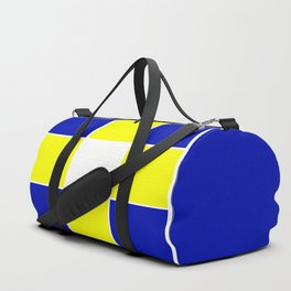 TEAM COLORS 3...YELLOW ,BLUE Duffle Bag