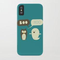 Boo Hoo iPhone X Slim Case