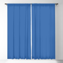 Palace Blue | Pantone Fashion Color Spring : Summer 2018 | London | Solid Color | Blackout Curtain