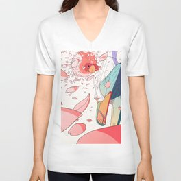 spring is coming Unisex V-Neck