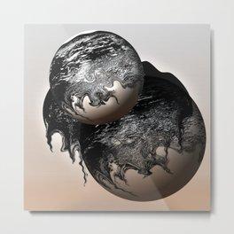 Newborn Metal Print