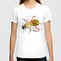 bee and puppycat T-shirts featuring Bee by Lauren Thawley