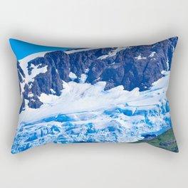 Whittier Glacier - I Rectangular Pillow