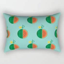 Fruit: Watermelon Rectangular Pillow