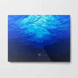 Under the Water Metal Print