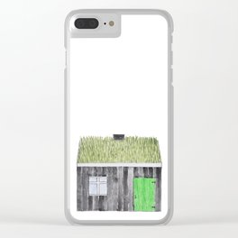 Traditional Faroese House Clear iPhone Case