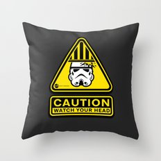 Empire Safety Program - Star Wars Throw Pillow