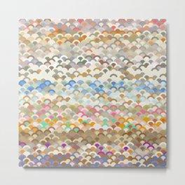 Shell Colours Metal Print