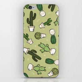 Cacti Dreams iPhone Skin