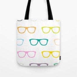 Colorful Specs Tote Bag
