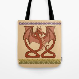 Red Dragons Tote Bag