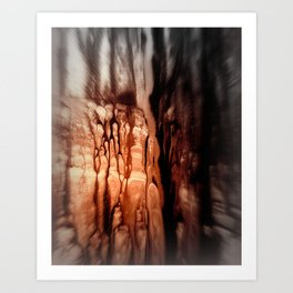 Light in the darkness/Nr.625 Art Print