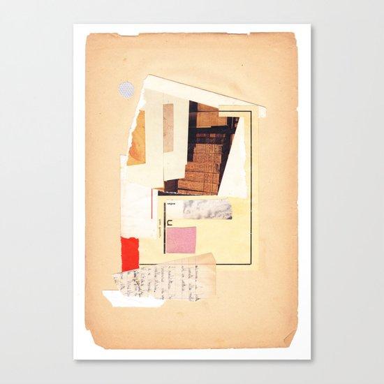 geometric exp #01 Canvas Print