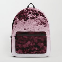 Burgundy CrYSTALS Ombre Gradient Backpack