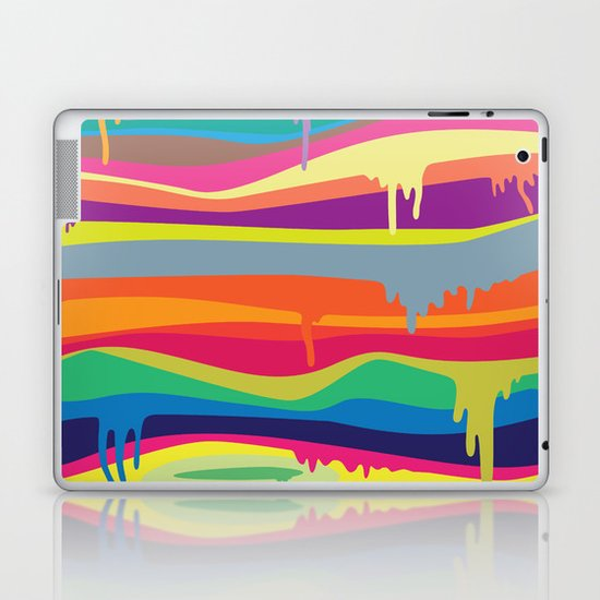 The Melting Laptop & iPad Skin