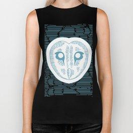 Owl Lines Biker Tank