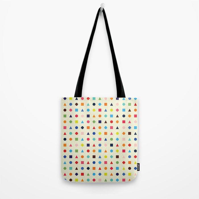 Dot Triangle Square Plus Repeat Tote Bag