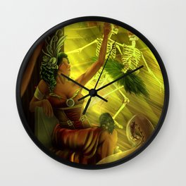 Playing With the Plague Wall Clock