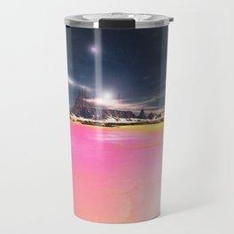 The Pink Seas of Planet Cany Travel Mug
