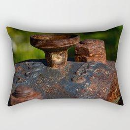 Rust - I Rectangular Pillow