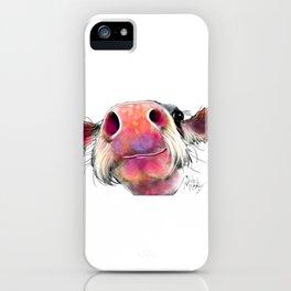 NoSeY CoW ' DuMPLiNG ' BY SHiRLeY MacARTHuR iPhone Case