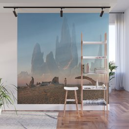 Looking for ID Wall Mural