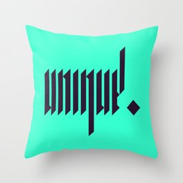 unique. Throw Pillow