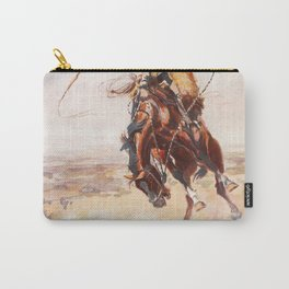 A Bad Hoss Charles Marion Russell Carry-All Pouch