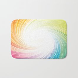 Rainbow background Bath Mat