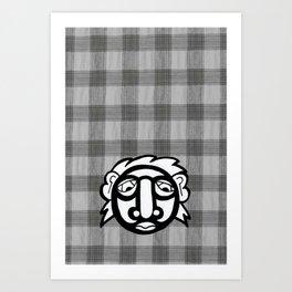 Check The Gnomie Art Print