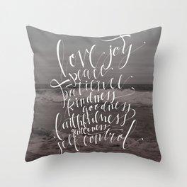 Fruit of The Spirit Throw Pillow