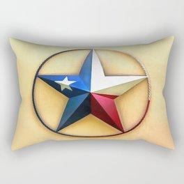 Texas Star Rectangular Pillow