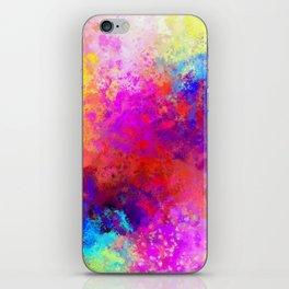 Colorful Splatter iPhone Skin