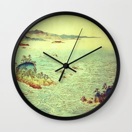 Dreams of Hannati Wall Clock