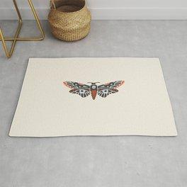 Inktober Day 15 - Death Moth Rug