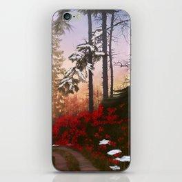 Christmas Way iPhone Skin