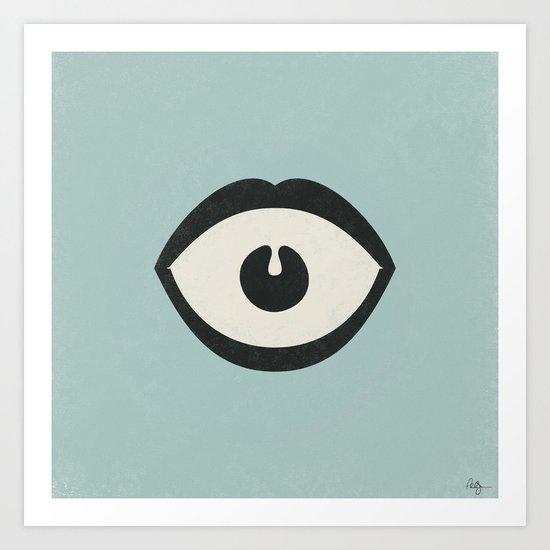 Eye Scream Art Print