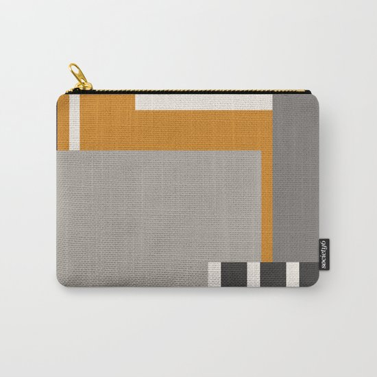 PLUGGED INTO LIFE (abstract geometric) Carry-All Pouch
