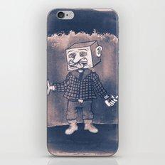 Mr Block Enjoys his Corporate Dividends iPhone & iPod Skin